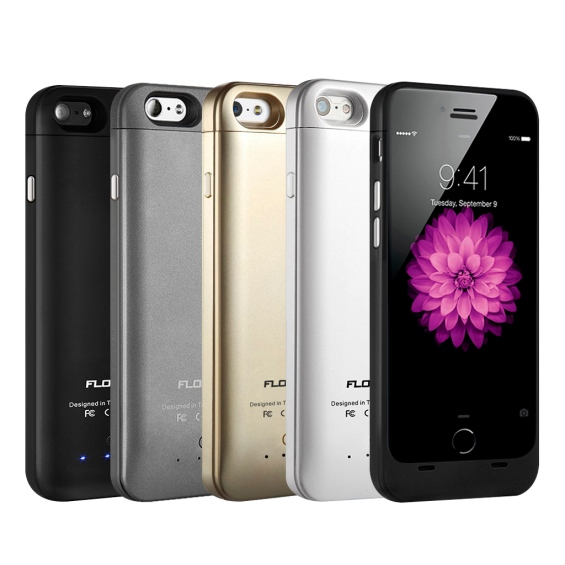 Floureon® GE6 Charging Cases For iPhone 6 4.7 inch 3200mAh